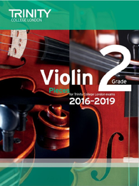 Trinity College London: Violin Exam Pieces Grade 2 2016–2019 (score & part)