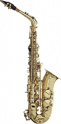 Ex-demo: Stagg Eb alto saxophone in formed case (one only)