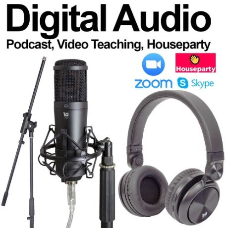 Digital audio bundle - ideal for online tuition and podcasts