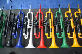 pTrumpet plastic trumpet (with gig bag)