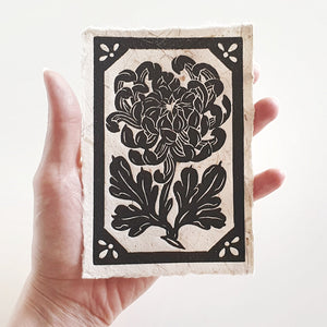 Chrysanthemum mini print