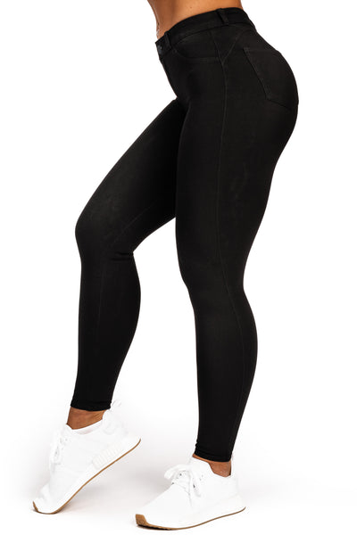 Womens 360 Fitjeans - Black