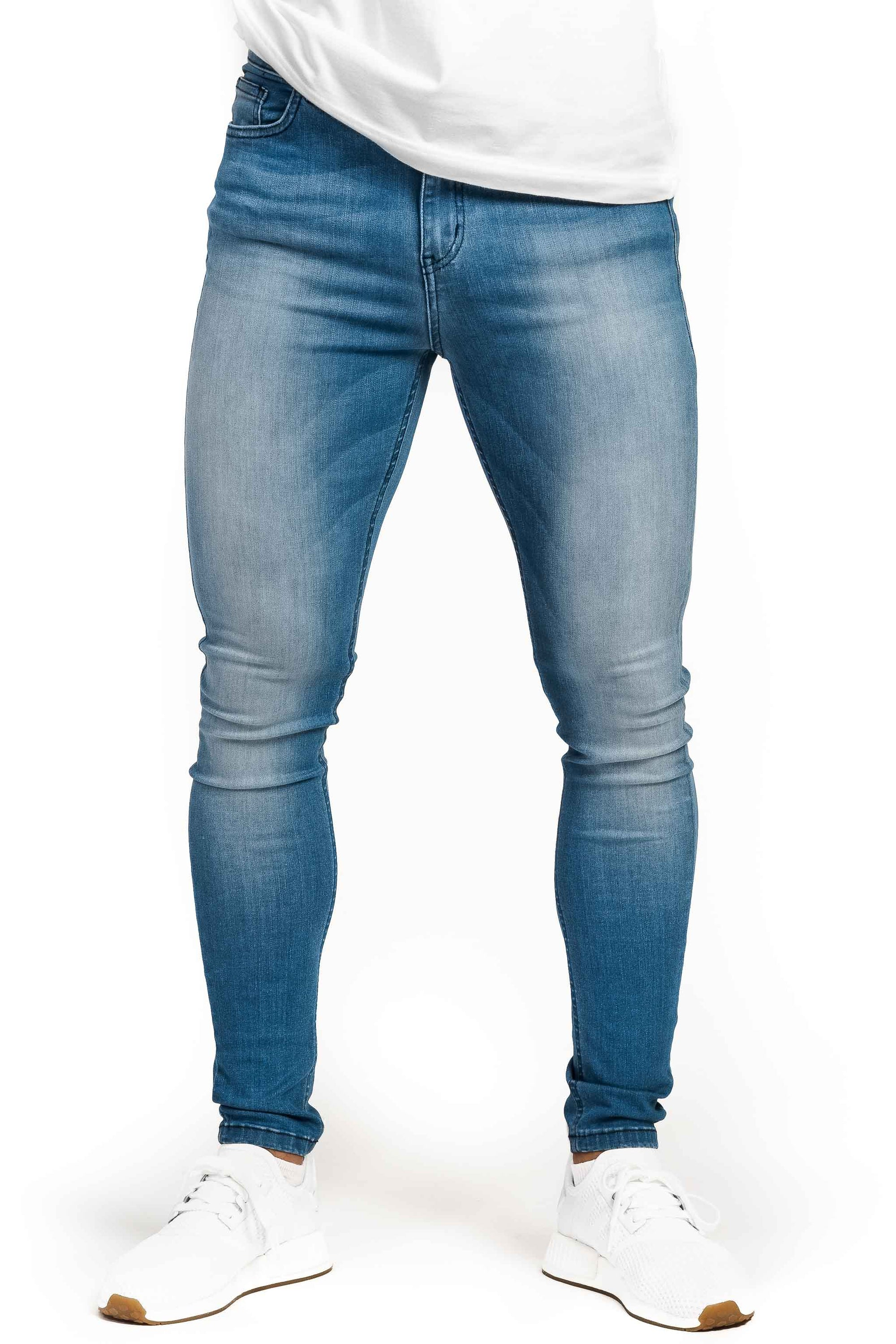 Mens Regular Fitjeans - Arctic Light Blue - Fitjeans Norge