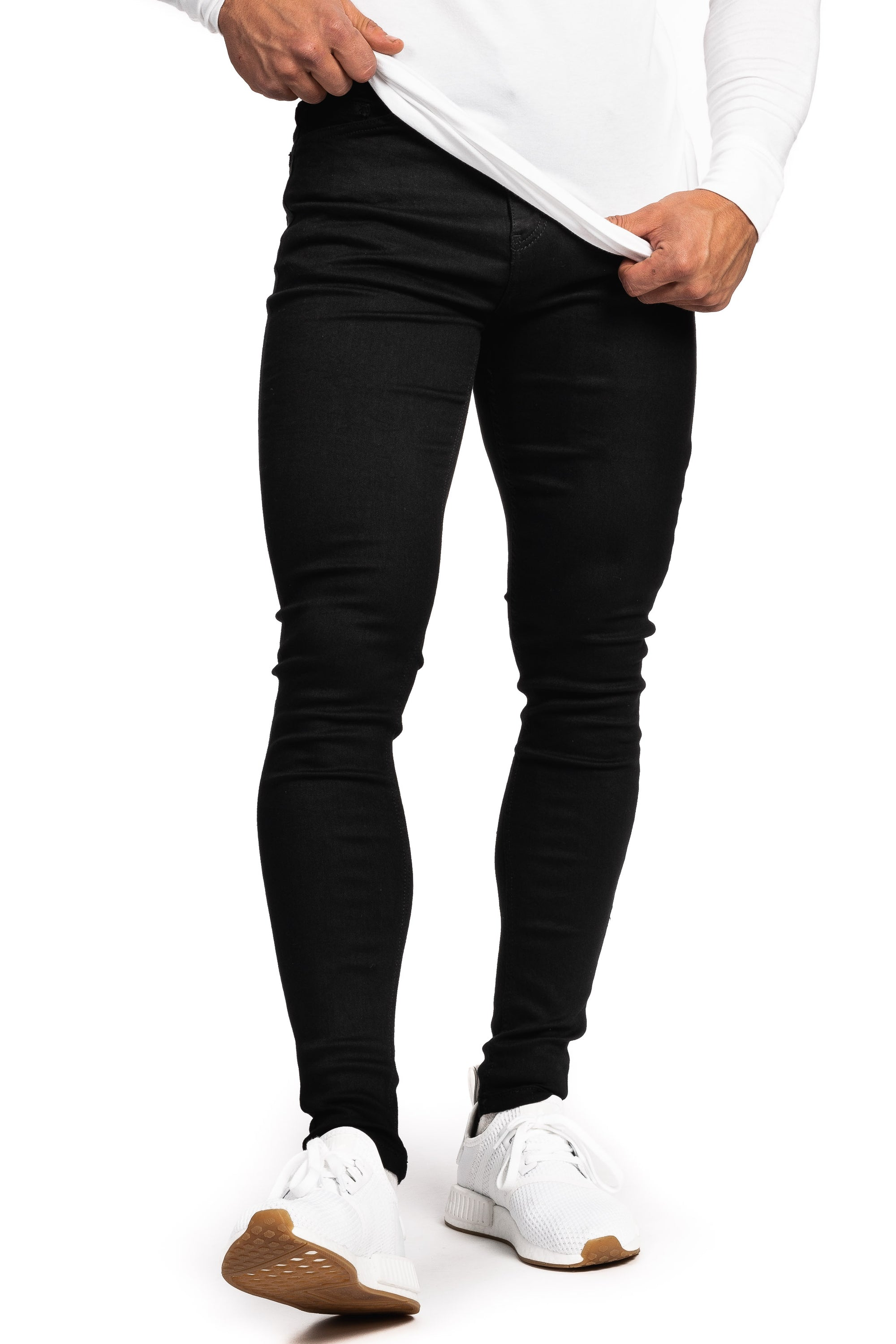 Mens Regular Fitjeans - Black - Fitjeans Norge
