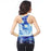 Starry Night Printed Women's Racerback Tank
