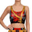 Deadpool Print Women Crop Top