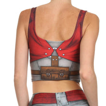 Blade And Ammo Printed Crop Top