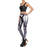 3D Printed Iron Metal Armour Women Leggings