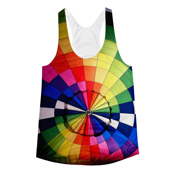 Inside The Air Balloon Women's Racerback Tank