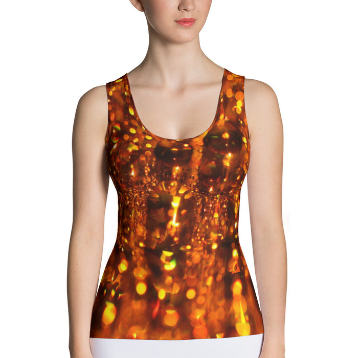Beautiful Beads Abstract Sublimation Cut & Sew Tank Top
