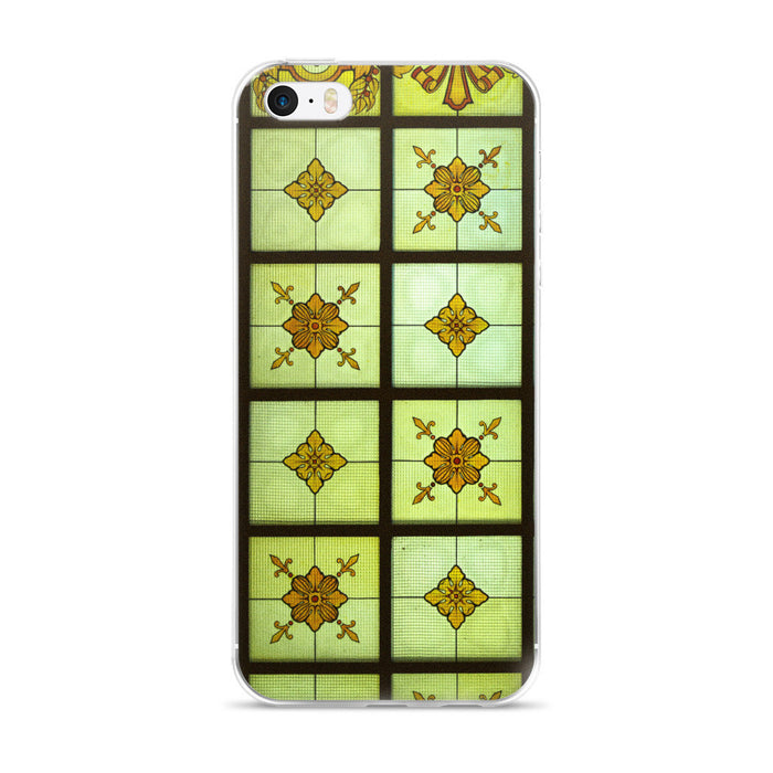 Crafty Window Pane Artwork Printed iPhone 5/5s/Se, 6/6s, 6/6s Plus Case