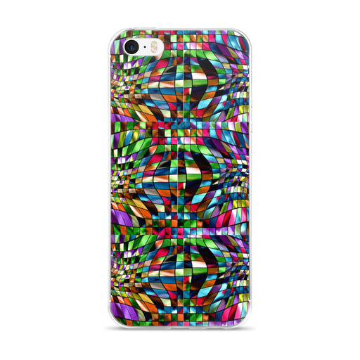 Distorted Kaleidoscope iPhone 5/5s/Se, 6/6s, 6/6s Plus Case