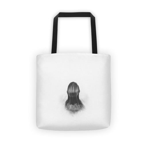 Girl In The Water Tote Bag
