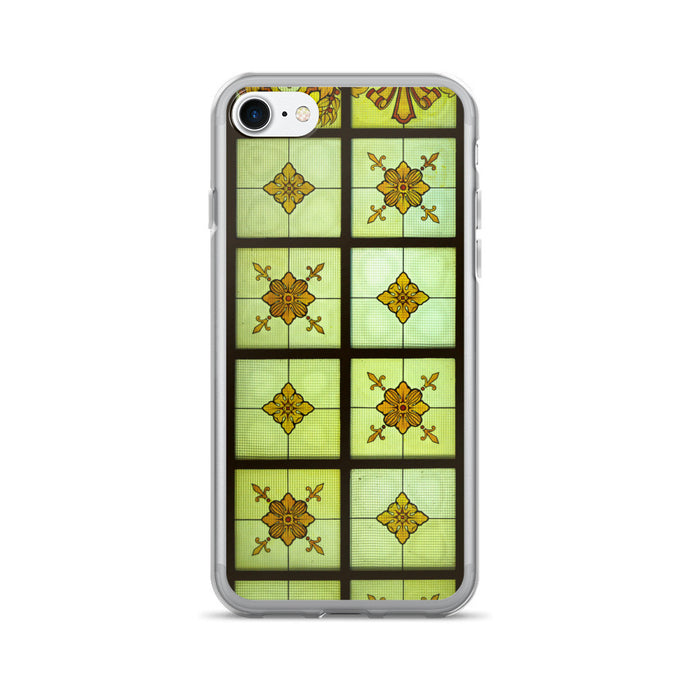 Crafty Window Pane Artwork Printed iPhone 7/7 Plus Case