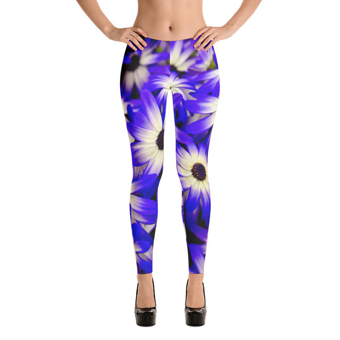Beautiful Floral Artwork Printed Women Leggings