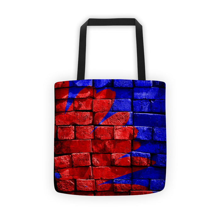Colored Bricks Tote Bag