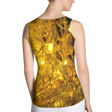 Lighted Wire Mesh Sublimation Cut & Sew Women Tank Top