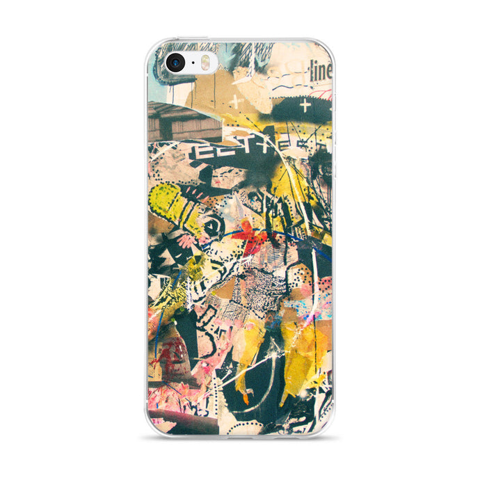 Graffiti Artwork Printed iPhone 5/5s/Se, 6/6s, 6/6s Plus Case