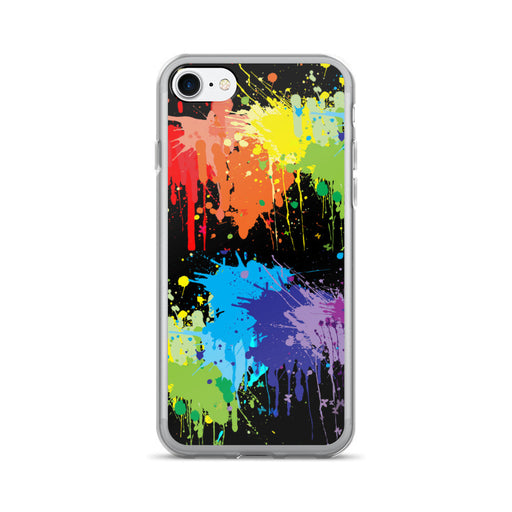 Paint Splash Artwork iPhone 7/7 Plus Case