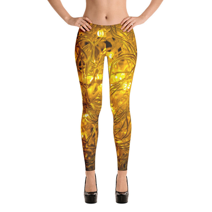 Light Artwork Printed Women Leggings