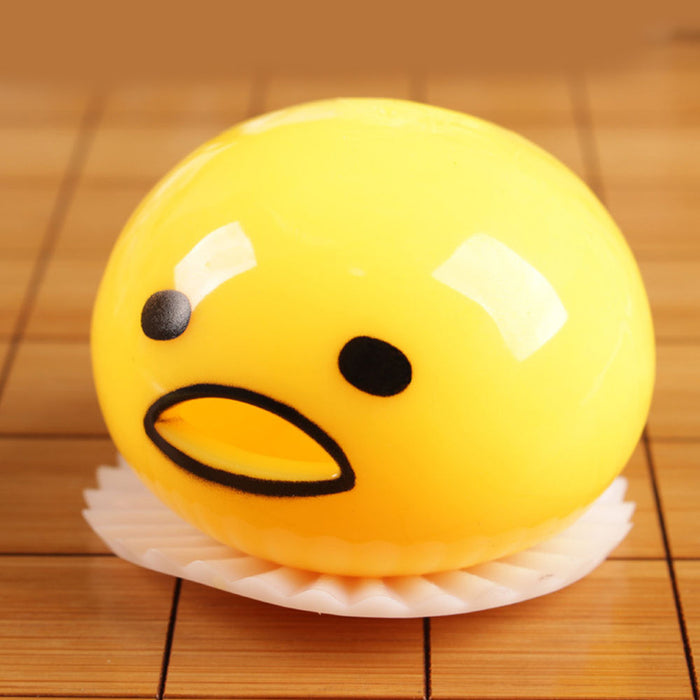 Squishy Egg Yolk Vomiting Anti Stress Reliever