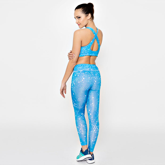 2 Pcs Yoga Set With Sports Bra and Pants
