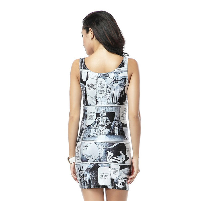Star Wars Manga Mini Tank Dress
