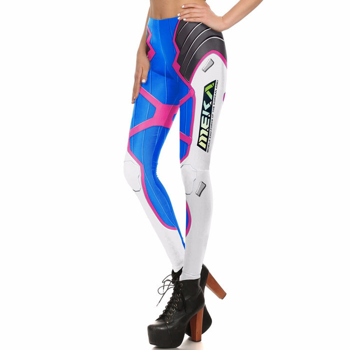 Overwatch D.Va MEKA Printed Women leggings