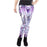 MECHA Robot CosPlay Purple Women Leggings
