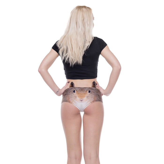 Squirrel With Ears 3D Printed Woman Underwear