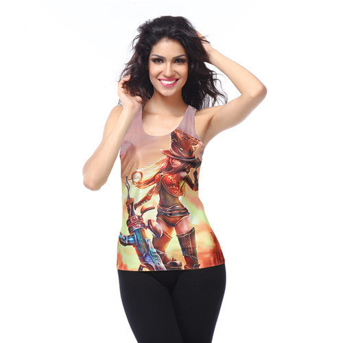 Dragon Ball Super Print Women's Racerback Tank