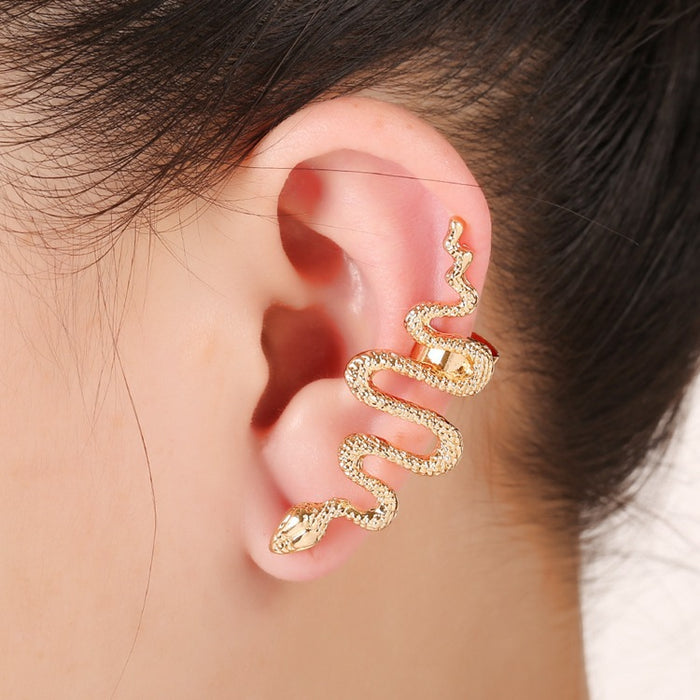 One Piece Unique Snake Earrings