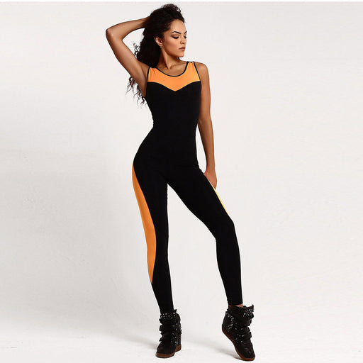 Backless Jumpsuit For Yoga Gym Running Jogging