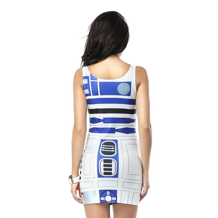 Star Wars Artoo Print Bandage Tank Dress