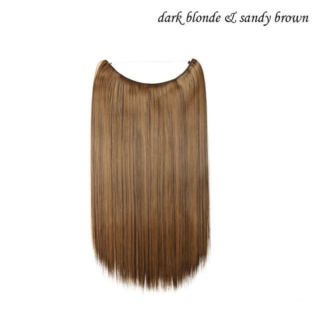 One Piece Soft Hair Extension With Invisible Wire