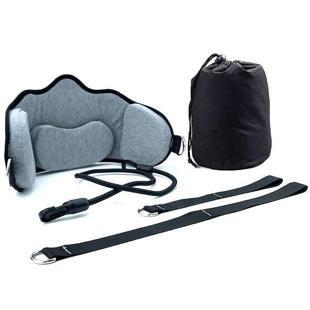 Memory Foam Neck Hammock with Straps & Belts
