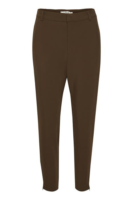 InWear Nica No Rib Coffee Brown Trouser, 30104179