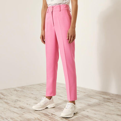 Access Fashion Rose High-Waisted Striped Trousers, S1-5036