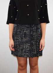 Access Fashion A-Line Boucle Tweed Skirt