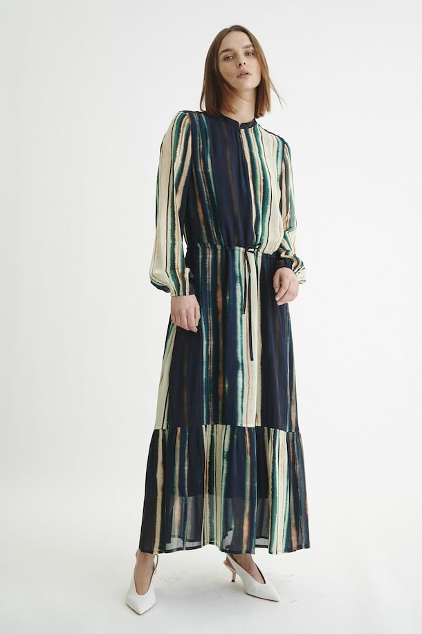 InWear Parcy Shaded Stripes Long Dress, 30105894