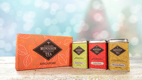 Monsoon Festive Tea Collection - Flavored Teas