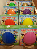 Giant Personalised Surprise Egg 14'' 36cm Kids Birthday Present Easter Egg - Green Standard Design
