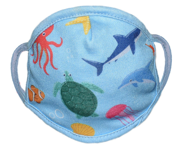 Face Protector - Aquatic - Kids