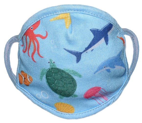 Face Protector - Aquatic - Adult