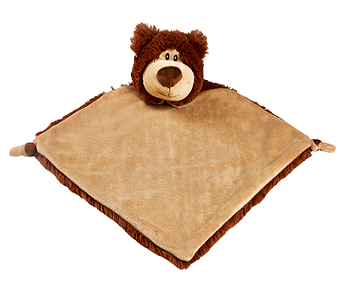 Snuggle Buddy comforter - Brown Bear