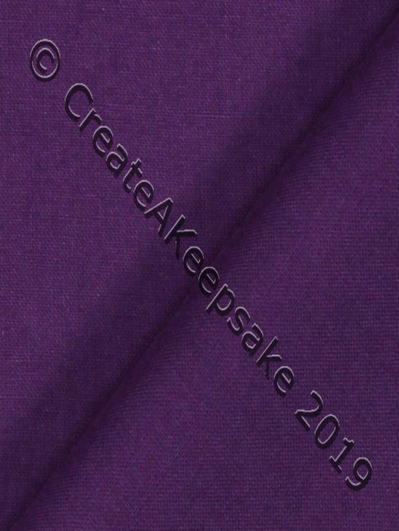 Personalised Pet Bandana - cotton - purple