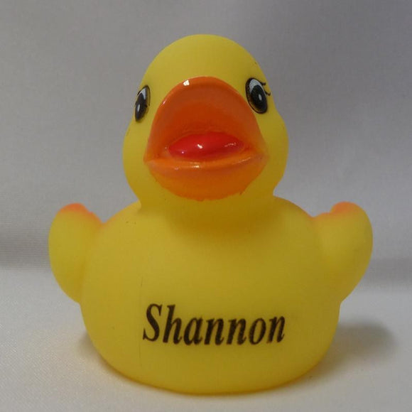Shannon - Personalised Rubber Duck