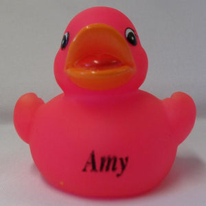 Amy - Personalised Rubber Duck