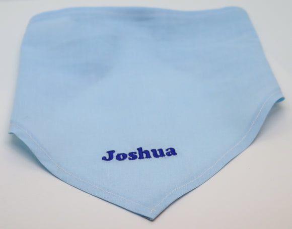 32cm  Rubber Duck and Embroidered Bandana - Any Name or Phrase