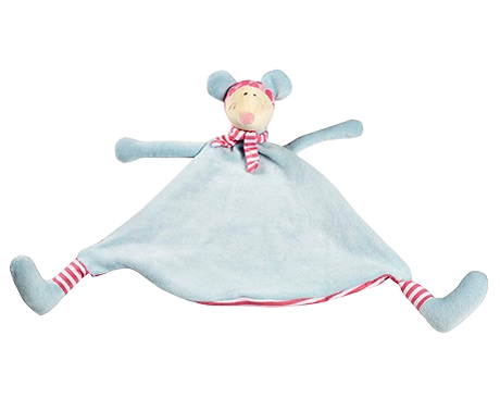 Snuggle Buddy comforter - Pastel Mouse